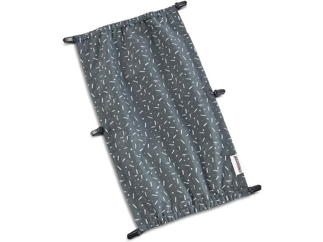 Croozer Cache soleil pour Kid Vaaya 1, graphite blue/white